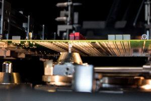 Selective wave soldering