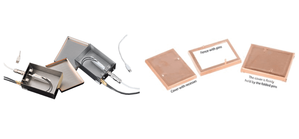 Examples of RF shielding