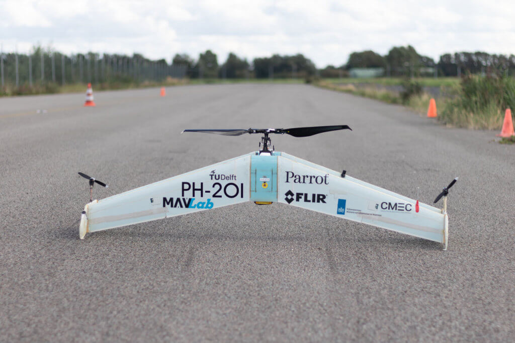 Drone autonomy_TU Delft